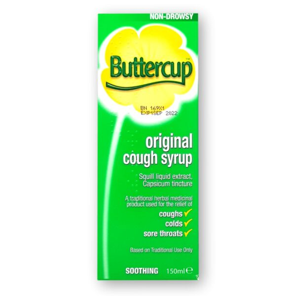 Buttercup Original Cough Syrup 150ml