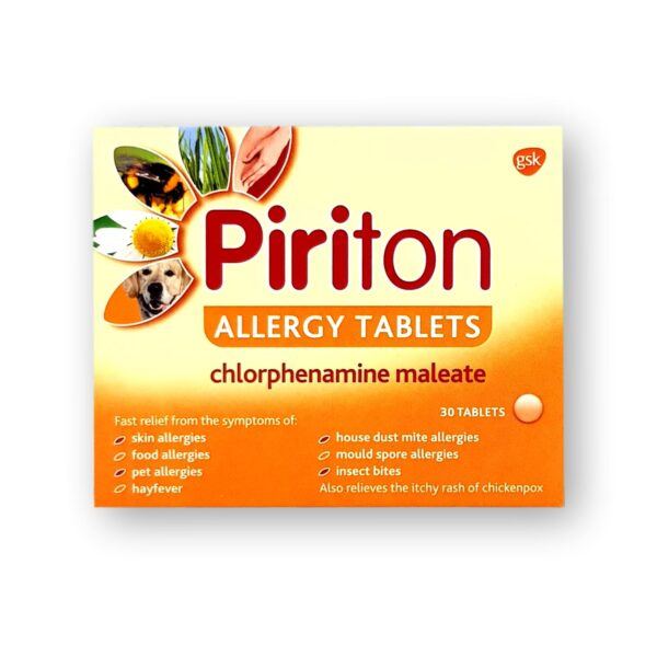 Piriton Allergy Tablets 30's