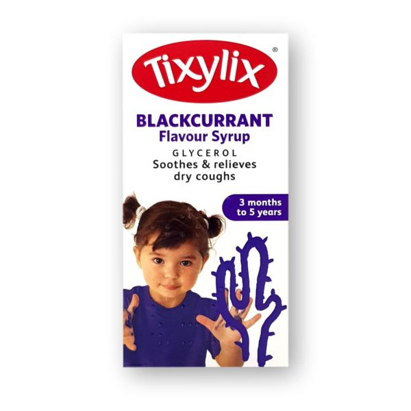 Tixylix Blackcurrent Syrup 100ml