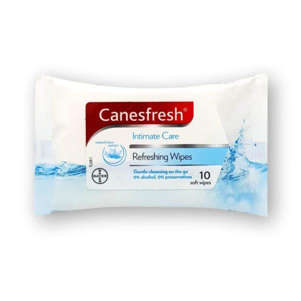 Canesfresh Refreshing Soft Wipes 10's