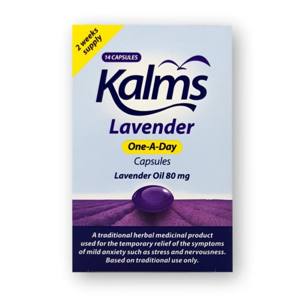 Kalms Lavender One-A-Day Capsules 14's
