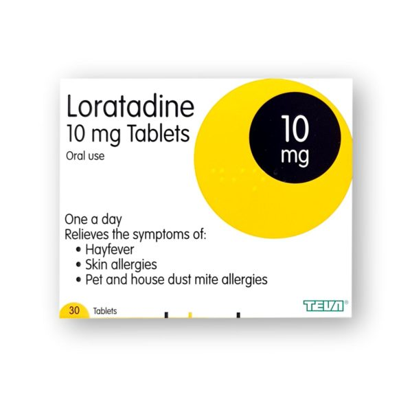 Loratadine 10mg Tablets 30's