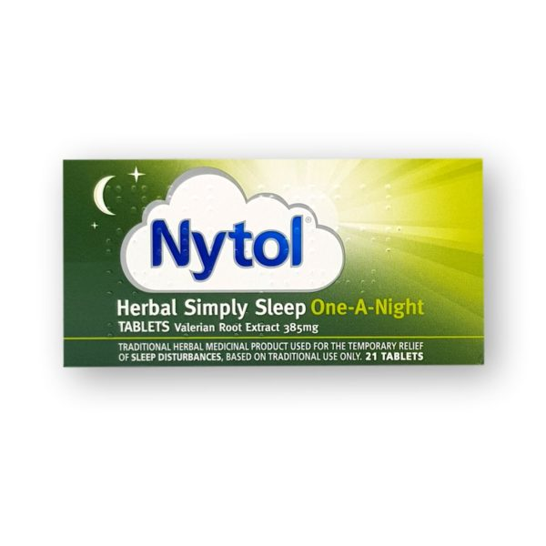 Nytol Herbal Simply Sleep One-A-Night Tablets 21's