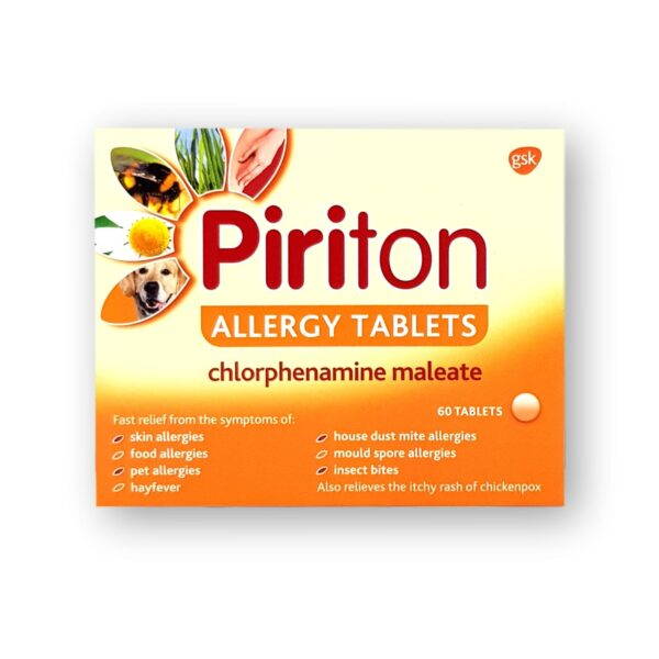 Piriton Allergy Tablets 60's