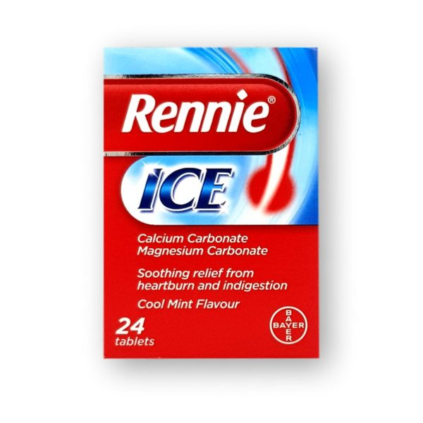 Rennie Ice Chewable Tablets 24's