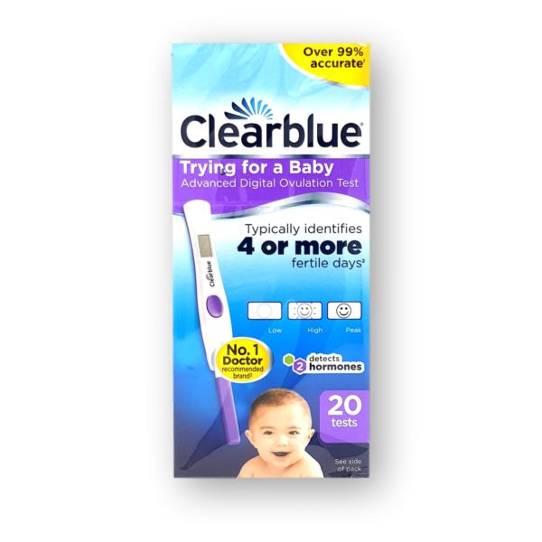 Clearblue Trying For A Baby Advanced Digital Ovulation Test 20's