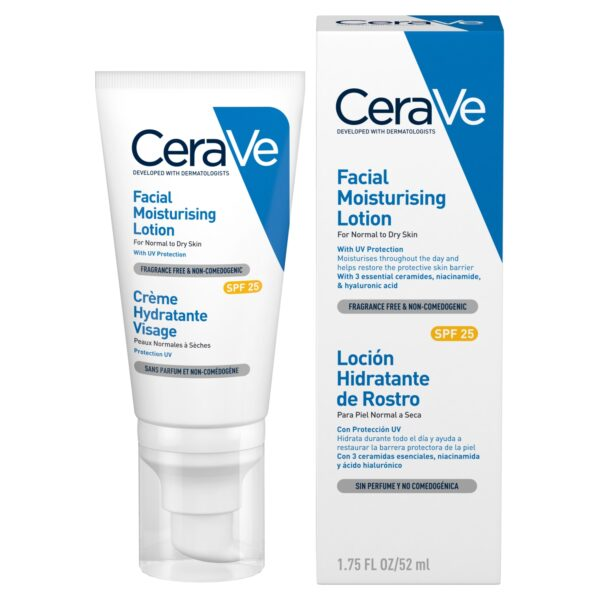 CeraVe AM Facial Moisturising Lotion SPF 25 52ml