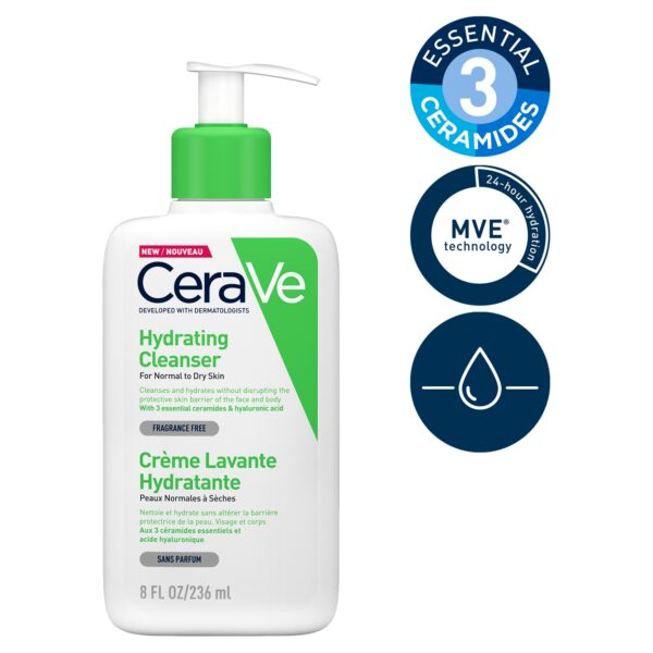 CeraVe Hydrating Cleanser for Normal to Dry Skin 236ml_T2