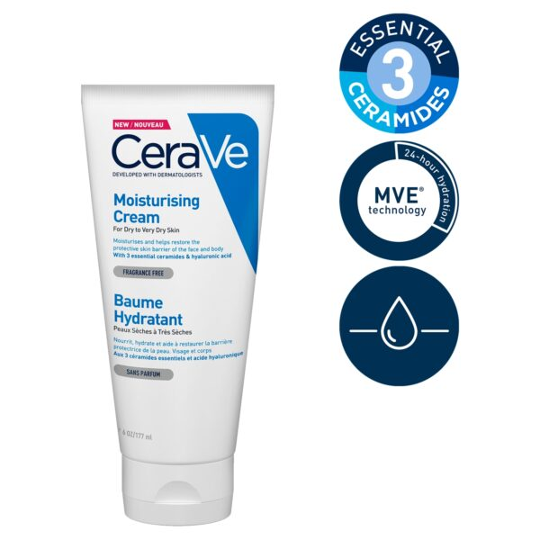 CeraVe Moisturising Cream 177ml_T2