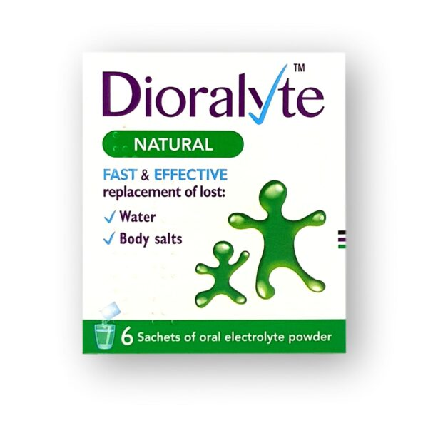 Dioralyte Natural Oral Electrolyte Powder Sachets 6's