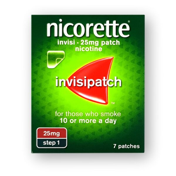 Nicorette Invisi 25mg Patches Step 1 7's