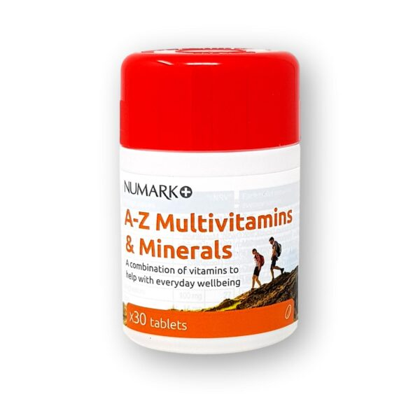 Numark A-Z Multivitamins & Minerals Tablets 30's