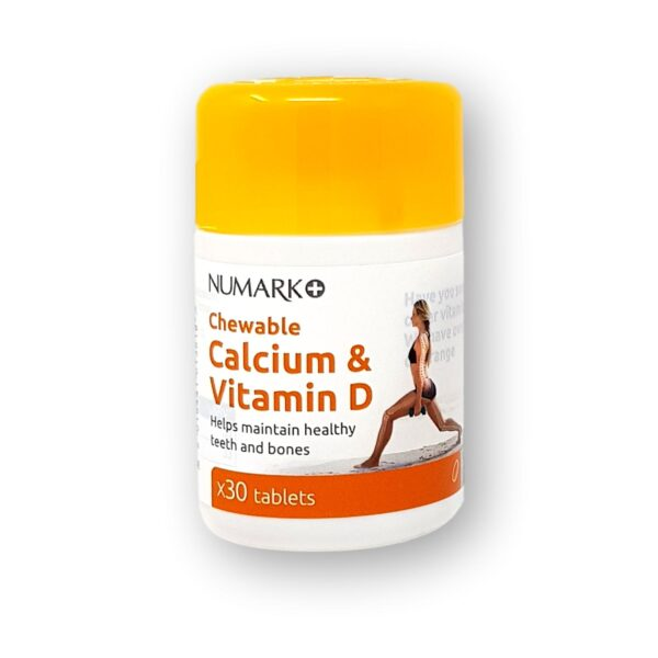 Numark Calcium & Vitamin D Chewable Tablets 30's