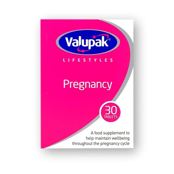 Valupak Pregnancy Tablets 30's