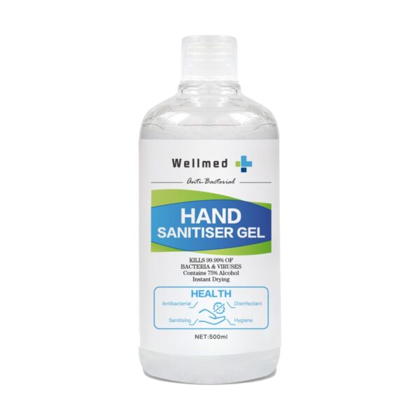 Wellmed Antibacterial Hand Sanitiser Gel