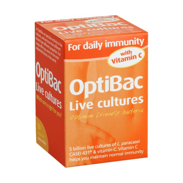Optibac Probiotics For Daily Immunity Capsules T2