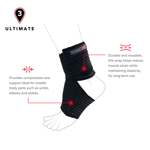 Physiologix Ultimate Multi-Wrap Support One Size 2